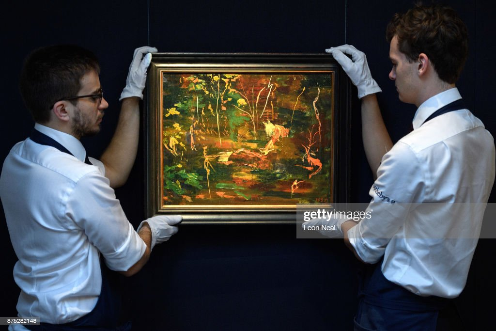 Winston Churchill's Last Ever Painting Is Unveiled For The First Time