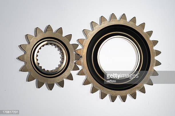 Two gears in Line touching