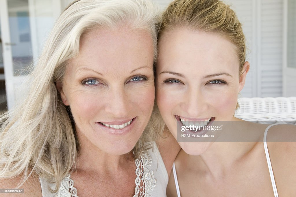 Two generations of women, Portrait : Stock Photo