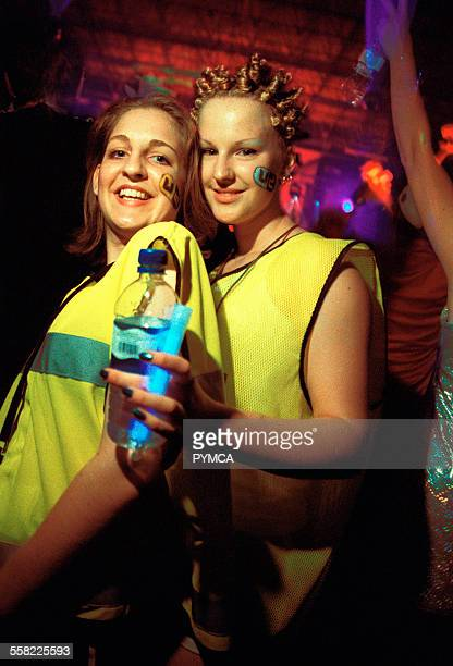 Two girls at a rave 18/4/1997 VDance