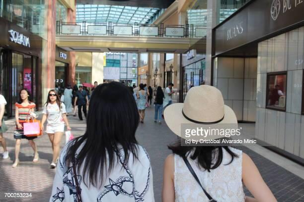 Two Girls Go Shopping