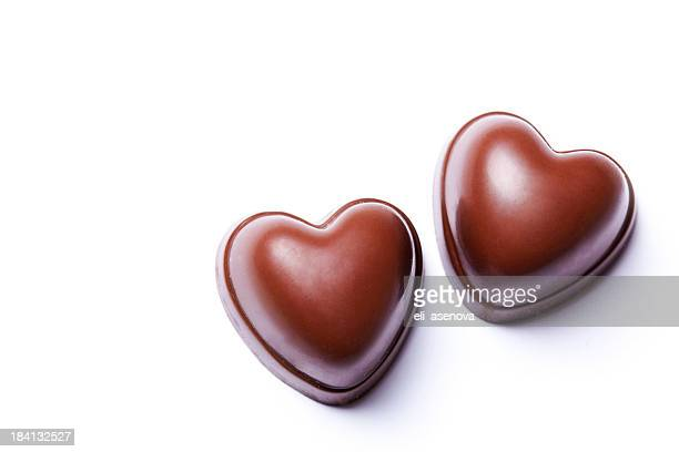 Two hearts chocolate