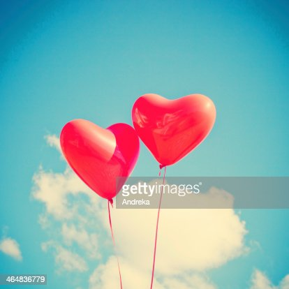Two Hearts : Stock Photo