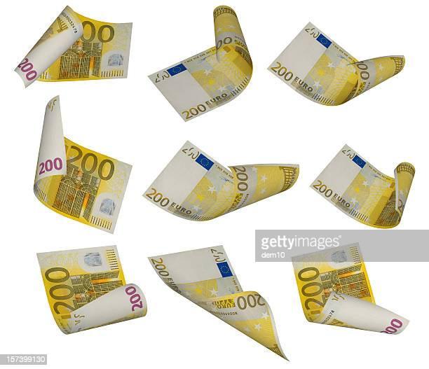 Billet de 200 euros photos et images de collection getty for Wohnwand 200 euro