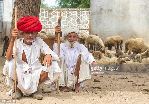 Two Indian Men-Rajasthan