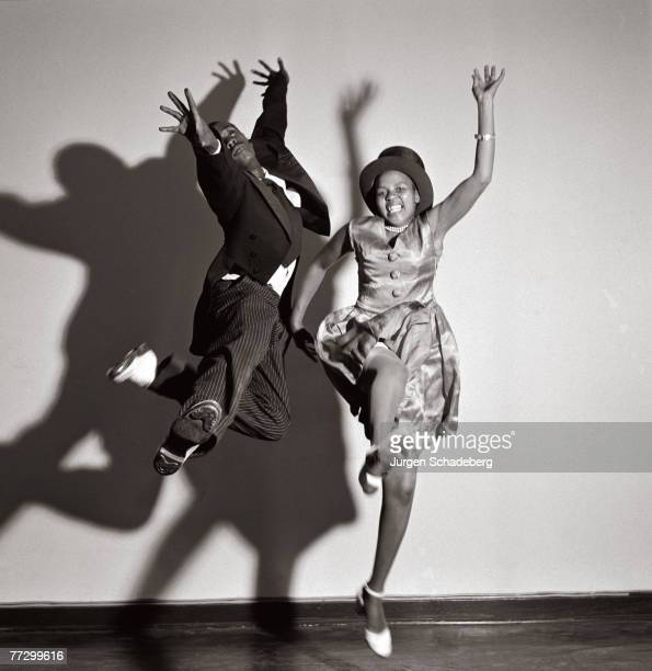 Two jive dancers at the Ritz nightclub in downtown Johannesburg 1952