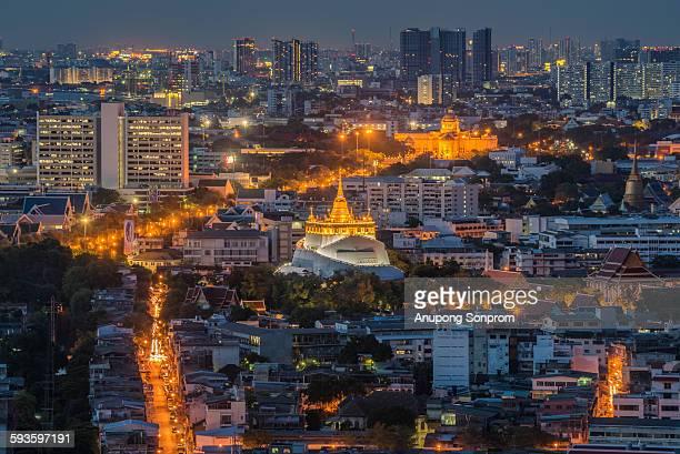 Two Landmark in Bangkok ,Thailand.
