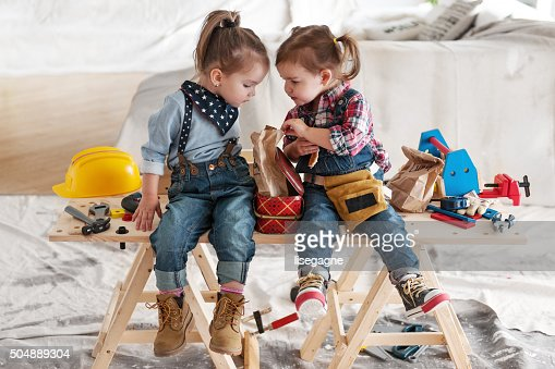 Two little Carpenters