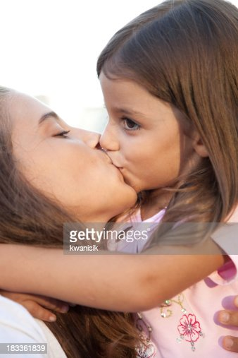 little girls kissing little boys on lips