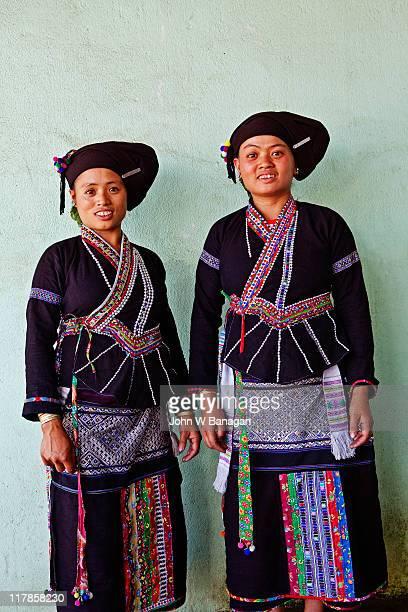 Two Lu women, Tam Duong ,Lai Chau, Vietnam
