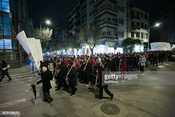 Two major protests were orginized in Thessaloniki the second largest city in Greece due to the visit of president of United States of America USA Mr...