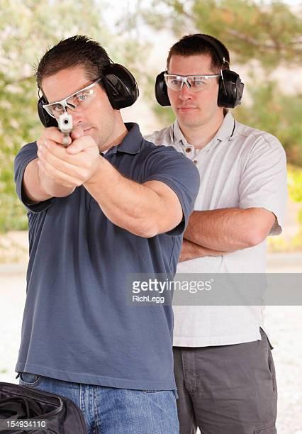 Two Men at the Shooting Range