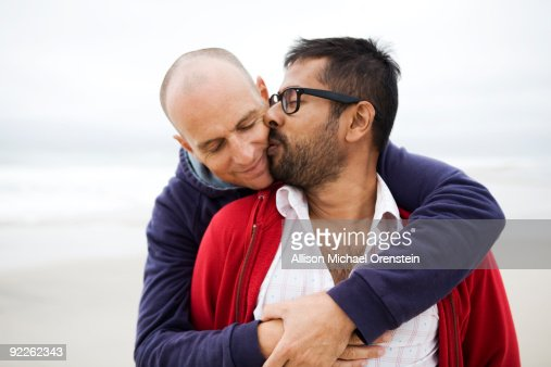 Two Men Kissing 63
