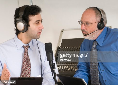 Two Men Podcasting