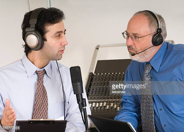 Two Men Podcasting