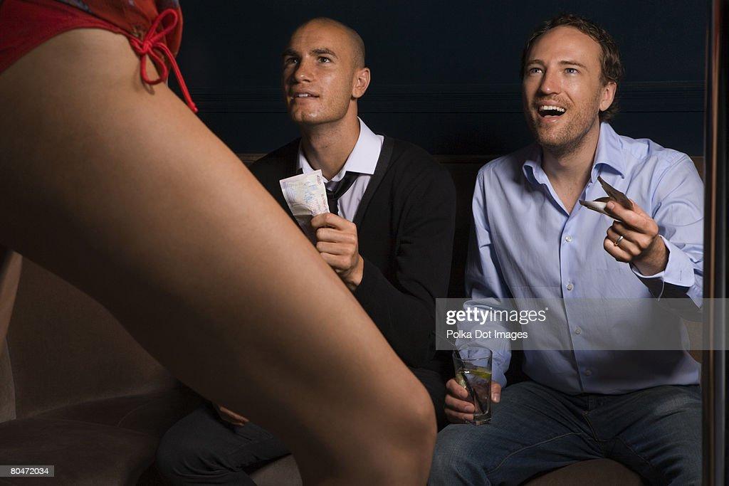 Man show strip