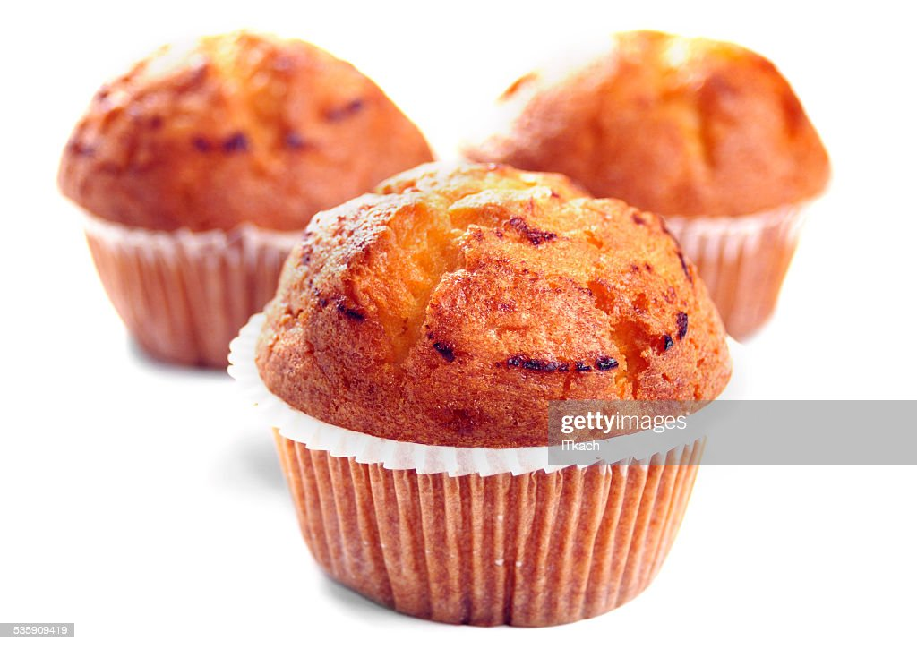 Two muffins : Stock Photo