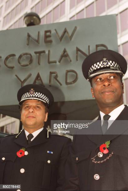 Two new senior appointments with the Metropolitan Police stand outside New Scotland Yard London Tarique Ghaffur joins as a Deputy Assistant...