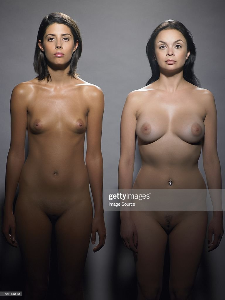 Two nude women : Stock Photo