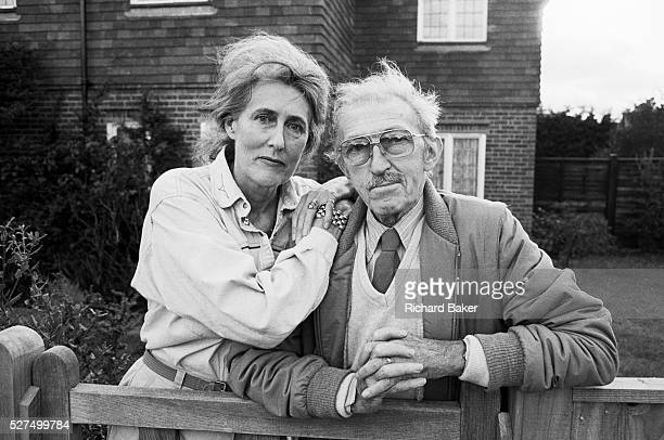 Two of the esteemed veteran photojournalists from the era of the weekly Picture Post magazine Grace Robertson and Thurston Hopkins are is seen at the...
