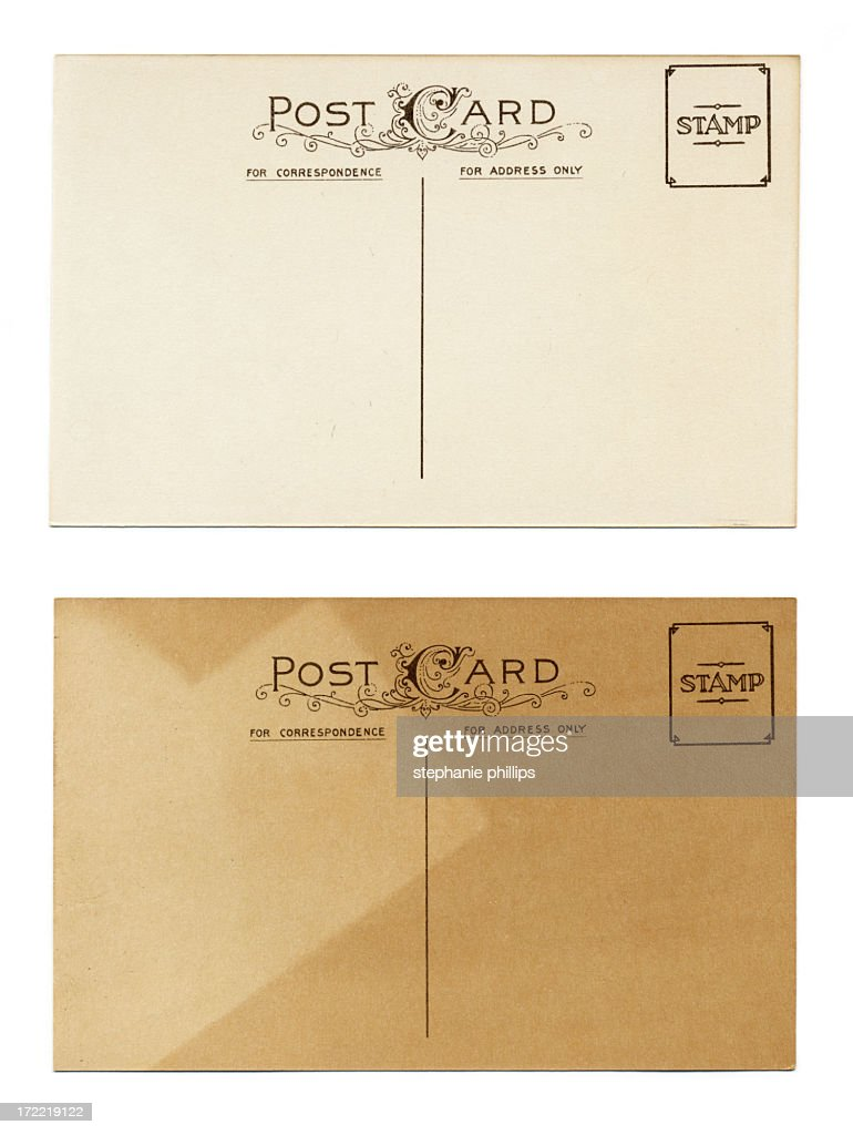 old postcards : Stock Photo