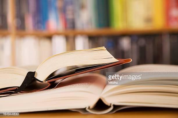 Zwei offene Bücher