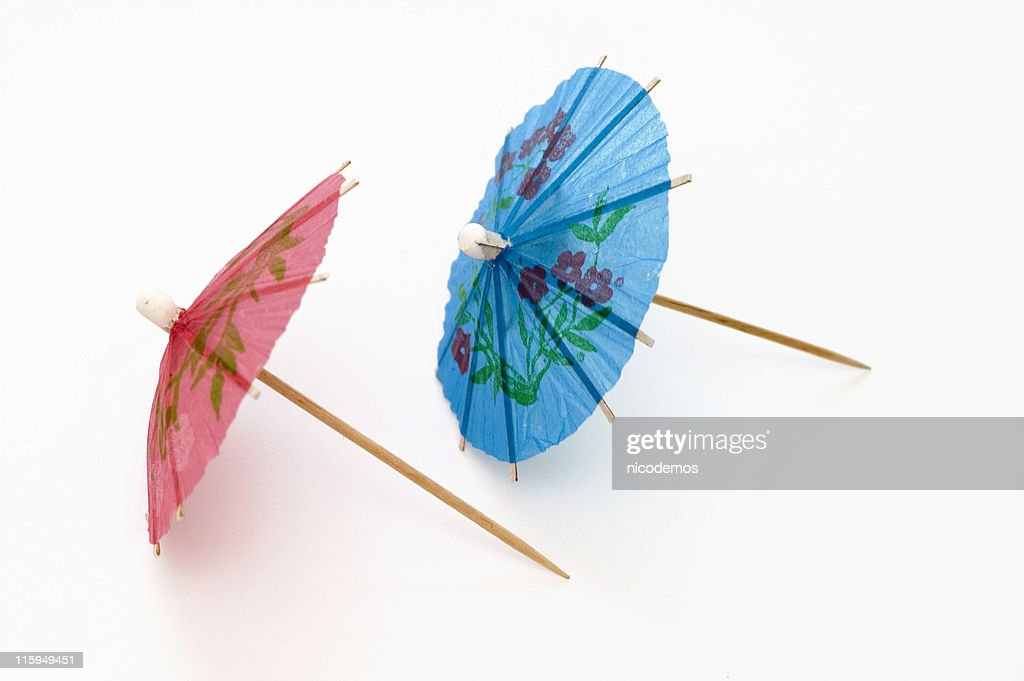 Two Party Umbrellas