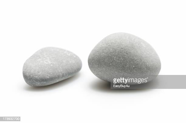 Two pebbles