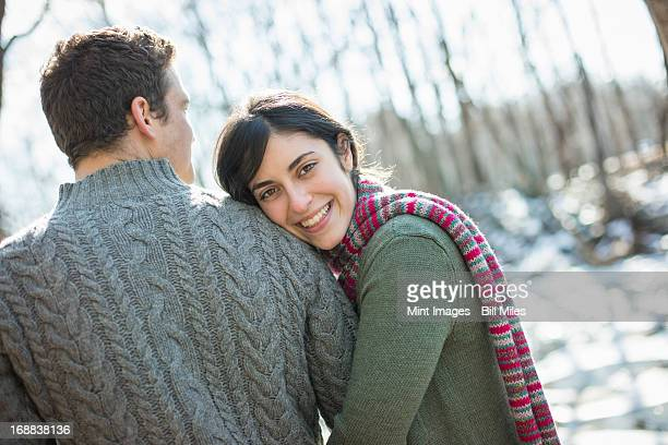 2 名様まで、屋外のカップルで、冬の一日を。ぴったりフィットする