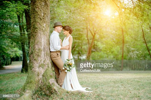 Two People In Love Stock Photo | Getty Images