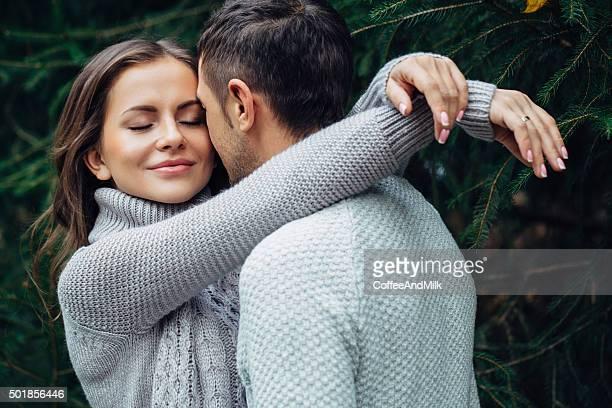 Zwei Personen in love