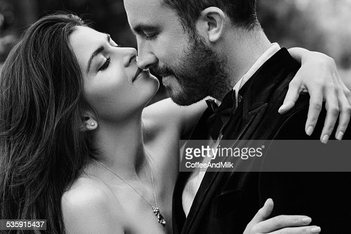 Two people in love : Stock Photo