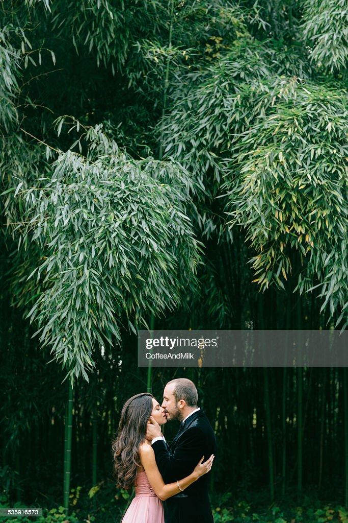 Duas pessoas apaixonadas : Foto de stock
