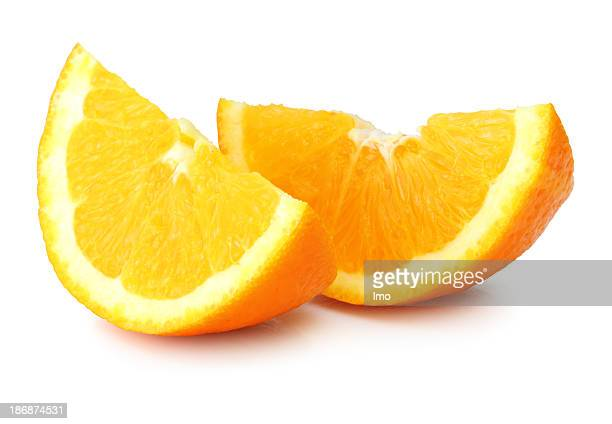 Two piece of orange