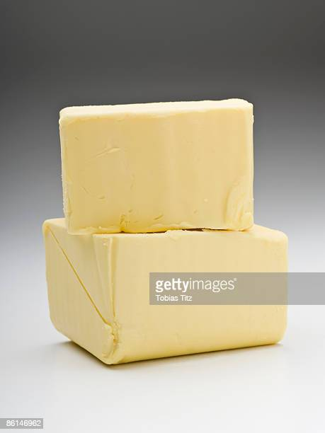 Two pieces of butter
