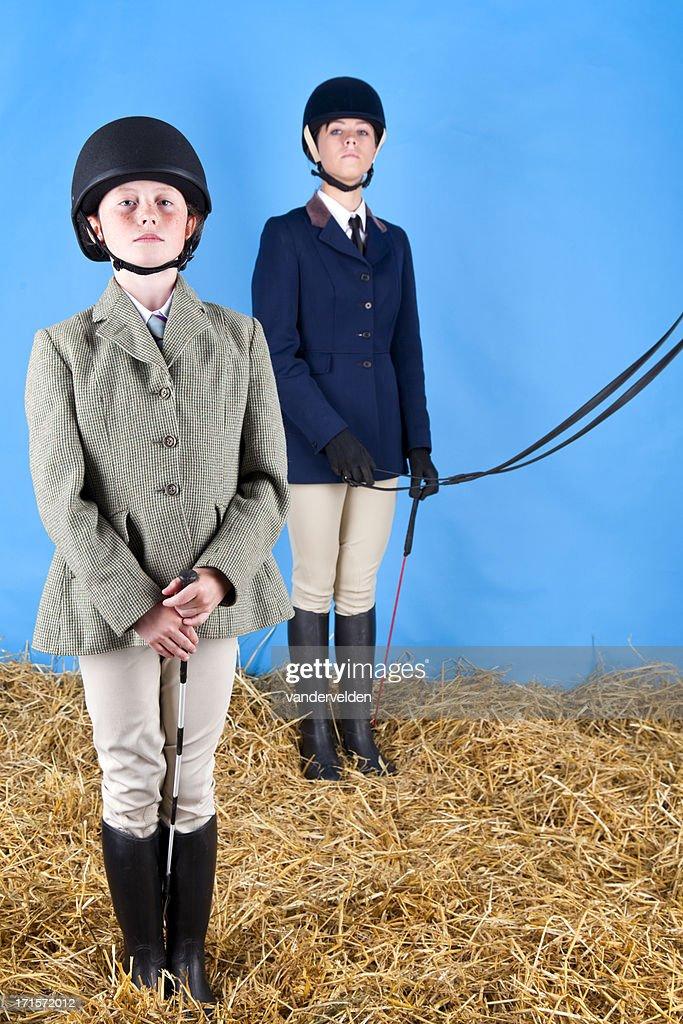 Two Posh Horsey Gals