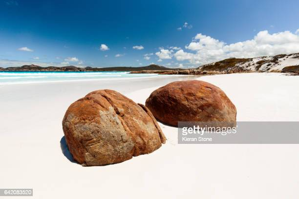 Two rocks at Lucky Bay