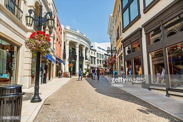 Two rodeo drive alley, Beverly Hills, Los Angeles, California, U