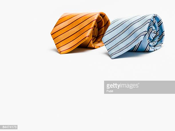 Two Rolled up Neckties