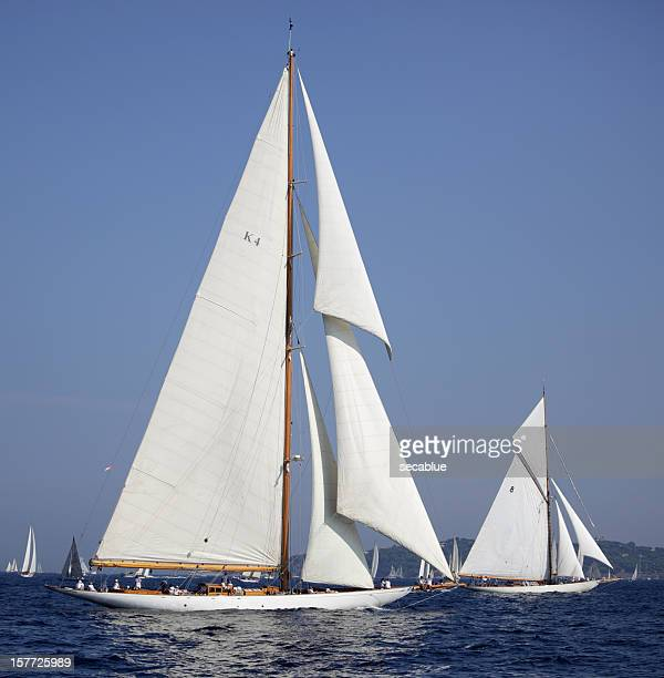 Two Sailing yachts