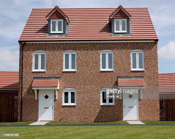 Semi Detached Stock Photos And Pictures Getty Images