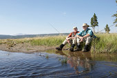 USA, Montana, Yellowstone National Park, Cameron