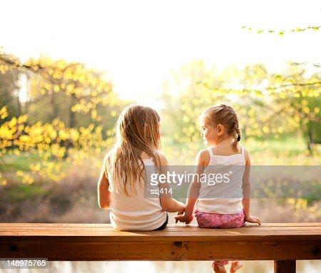 姉妹ラウンジでお二人ご一緒に夜の太陽