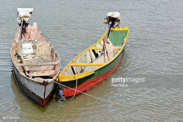 two small boats