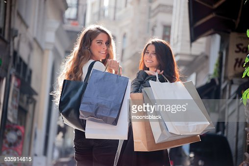 Sorridente Raparigas : Foto de stock