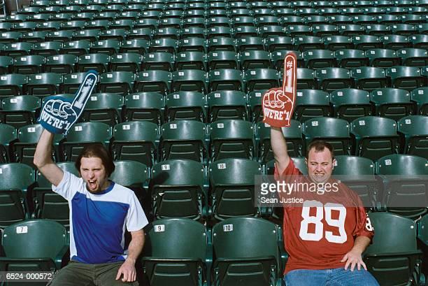 Two Sports Spectators