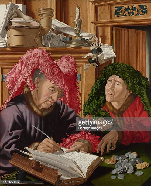 Two Tax Gatherers c1540 Found in the collection of the National Gallery London