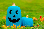 symbol of alternative non-food treats for children with food allergies. the concept of health for children in the Halloween season. Copy space for your text