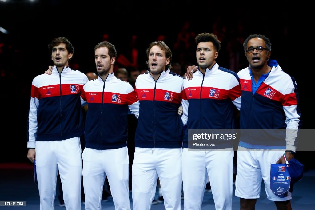 Davis Cup World Group Final - France v Belgium - Day One