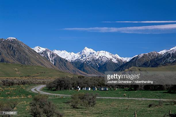 Two Thumbs Range, Rangitata Valley, South Island, New Zealand, Pacific